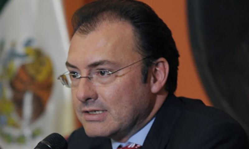 Los líderes del sector financiero no fueron consultados para definir los términos específicos de la reforma, reconoció Videgaray. (Foto: Notimex)