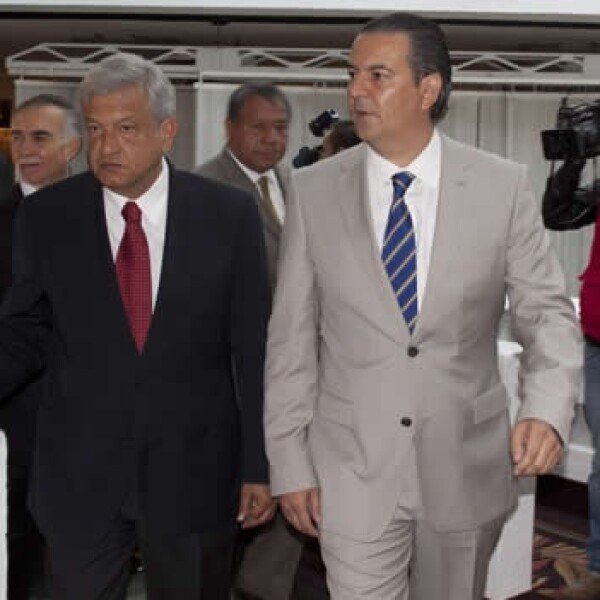 López Obrador se reune con consejo coordinador empresarial