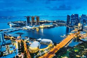 Singapur, el primero