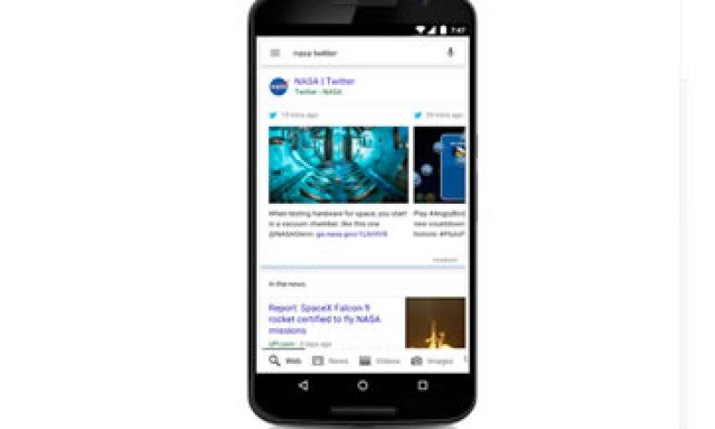 Google presentará un destacado con los tuits más importantes de cierta cuenta o tema. (Foto: Cortesía/Google Blog )
