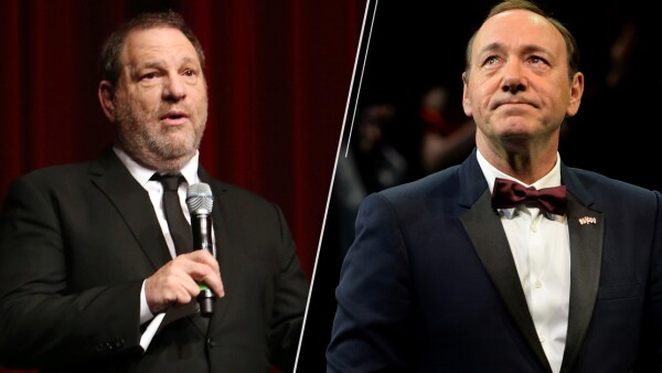 Harvey Weinstein y Kevin Spacey