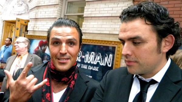 Los hermanos Billy y Fernando Rovzar se mostraron felices por el tan esperado estreno de el `Hombre Araña´.
