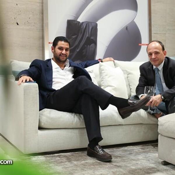 Adrián García Iza y Pablo Torres