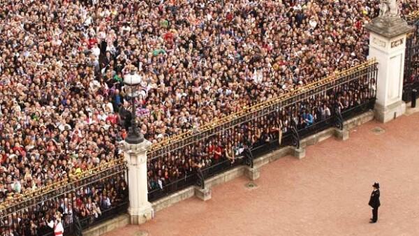 El enlace matrimonial del príncipe Guillermo y Catalina se colocó como uno de los eventos más vistos en todo el Reino Unido.