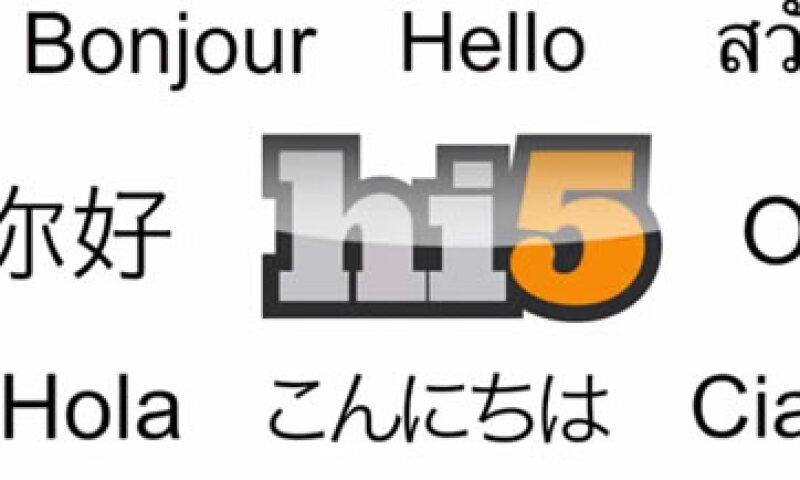 Hi5 sucumbió ante el crecimiento de Facebook. (Foto: Tomada de Hi5)