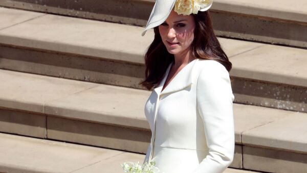 Al parecer Kate Middleton no recicló vestido para la boda real