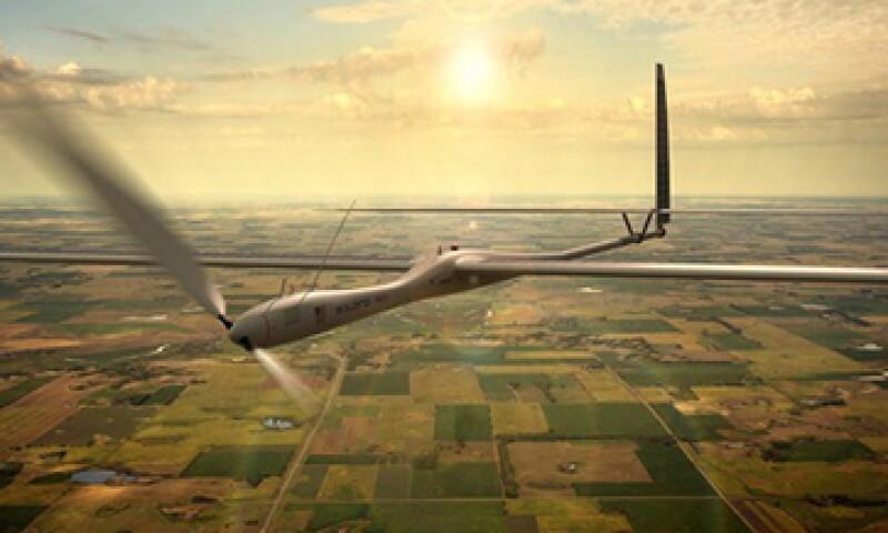 Los drones son una estrategia de Google y Facebook para expandir su mercado en Internet. (Foto: Cortesía Titan Aerospace/Fortune)
