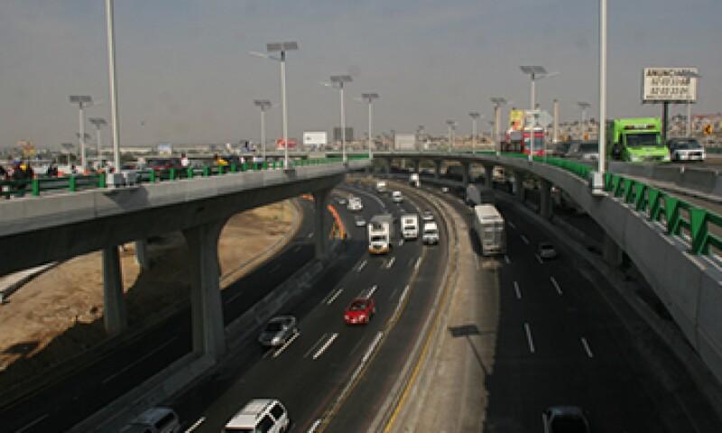 El viaducto elevado sería parte de las obras del tren México-Toluca. (Foto: Cuartoscuro)