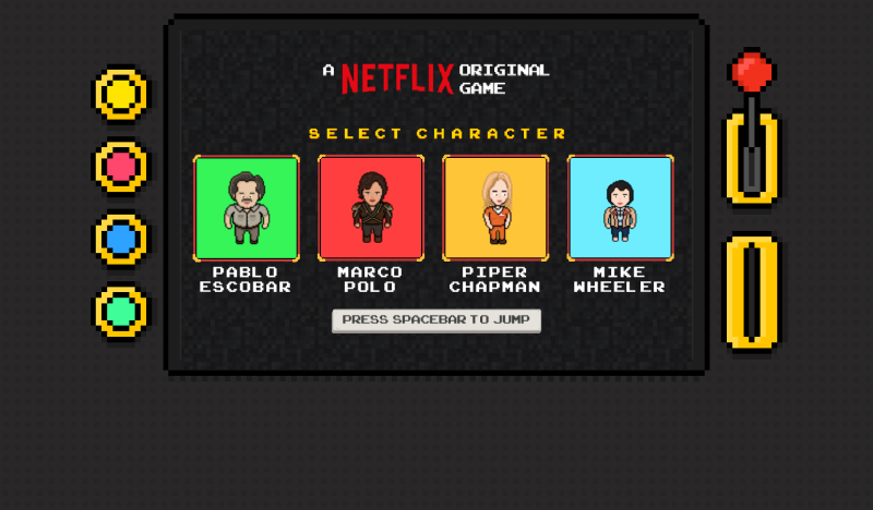 Personajes Arcade