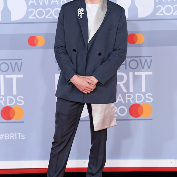 40th Brit Awards, Arrivals, The O2 Arena, London, UK - 18 Feb 2020