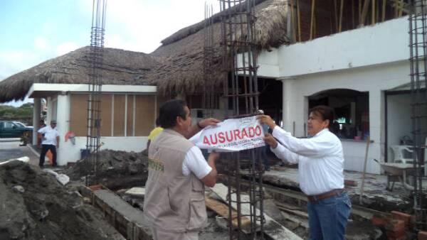 Profepa clausura obras de El Real, en Colima