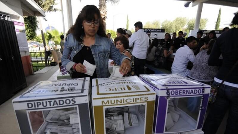 Baja California urnas votos