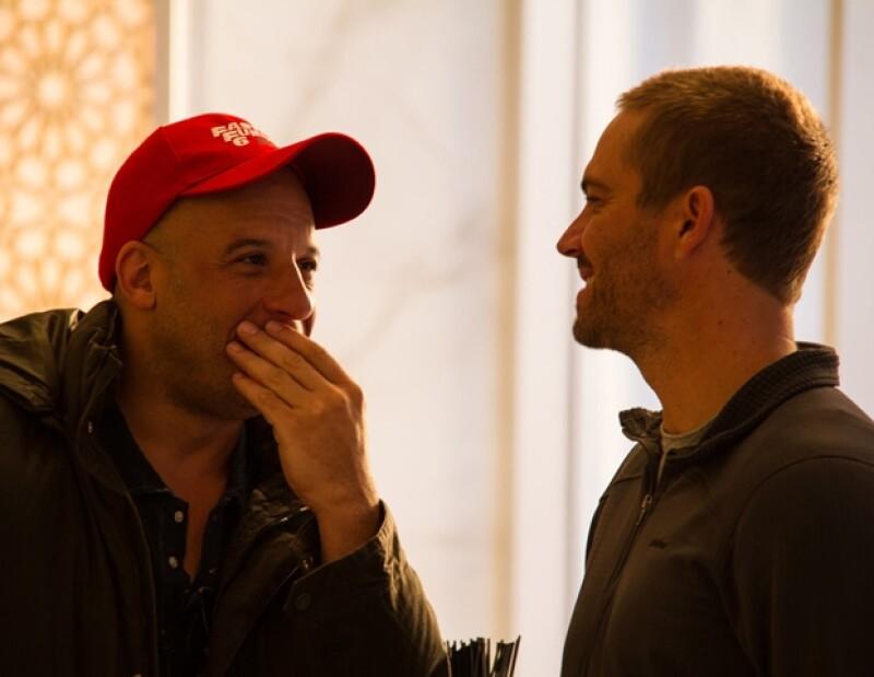 Esta fue la fotografía que Vin Diesel compartió junto un emotivo mensaje para Paul.