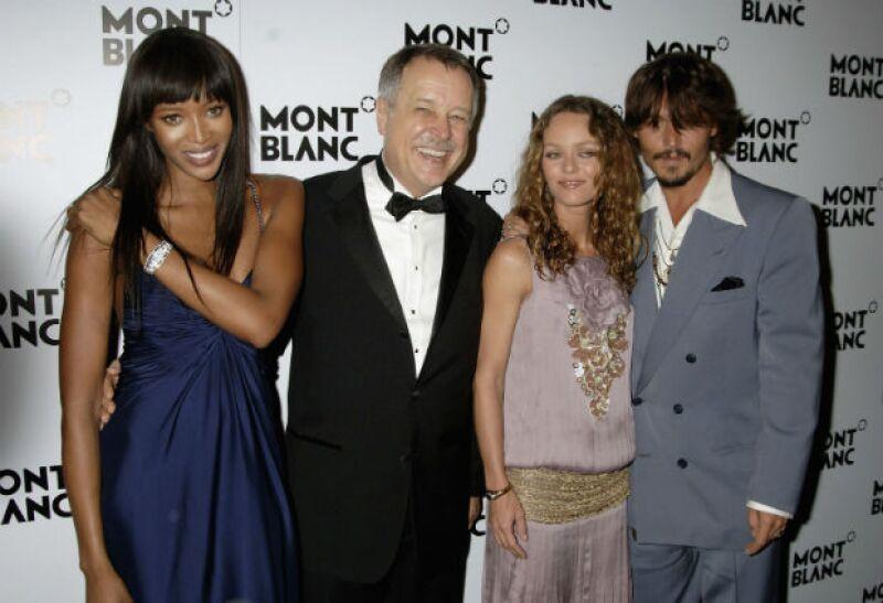 Naomi conoció a Johnny cuando éste aún salía con Vanessa Paradis.