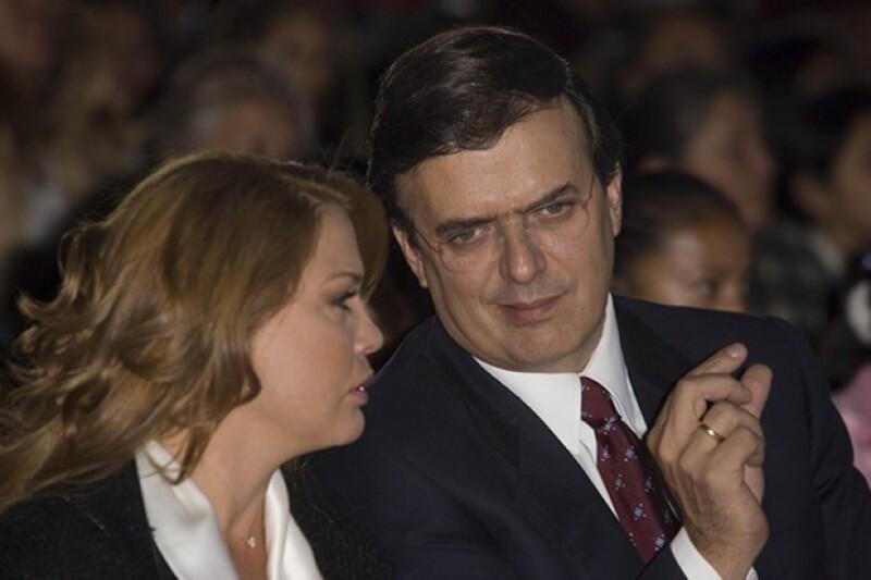 Mariagna Prats acostumbraba acompañar a Marcelo a la mayoría de los eventos.