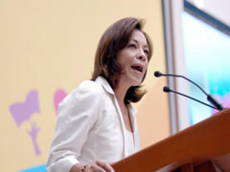 La ex titular de la SEP aceptó una diputación por parte del PAN. (Foto: Notimex)