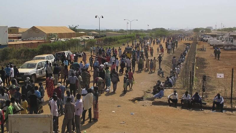 sudan del sur, enfrentamiento, muertos, victimas, combates, etnias, pueblos, gobierno, ejercito, africa