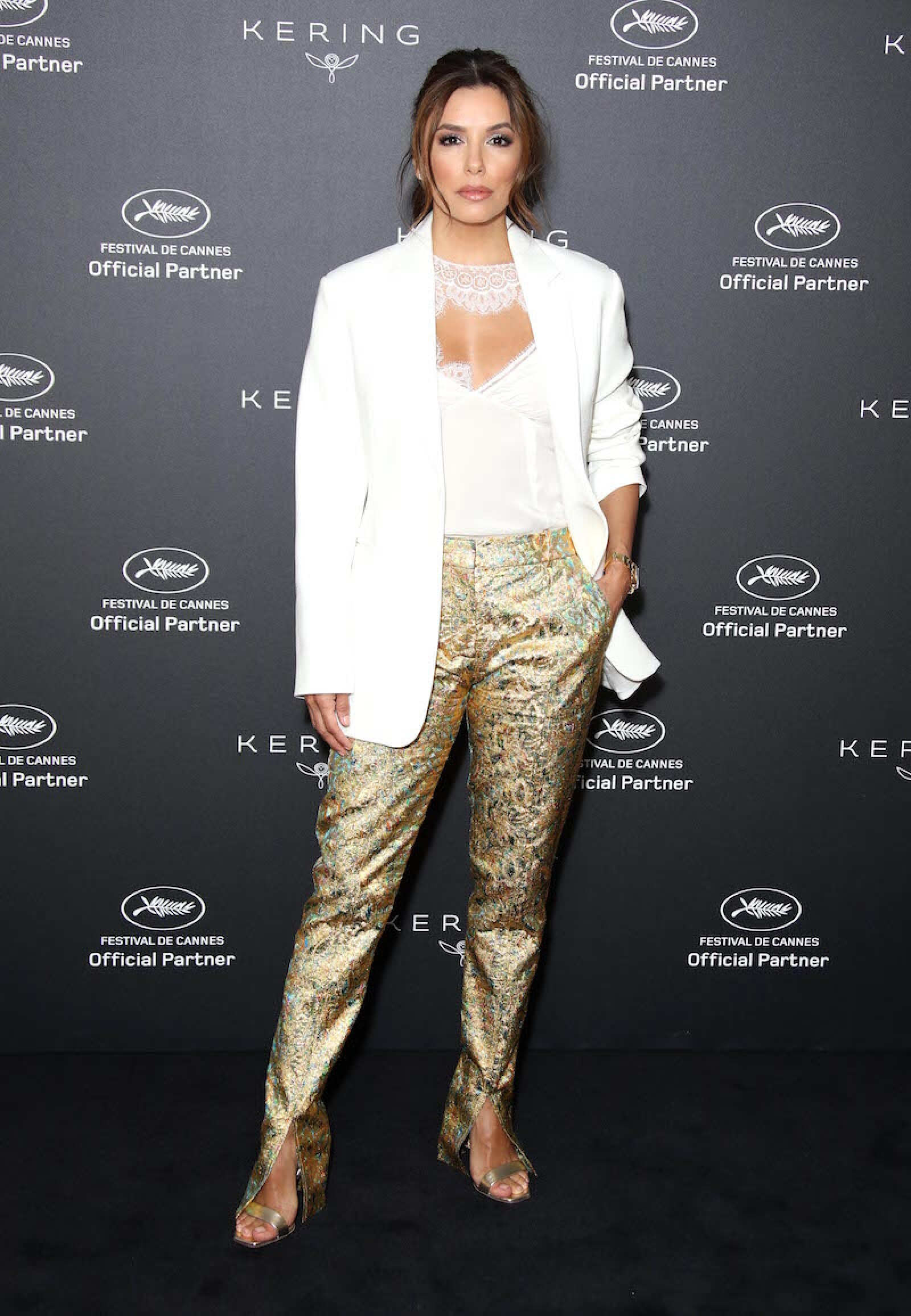 Kering Women in Motion Talk with Eva Longoria Photocall - The 72nd Annual Cannes Film Festival