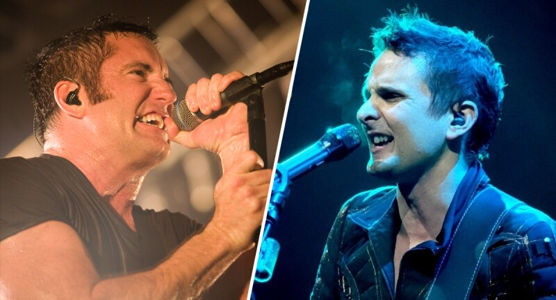 Trent Reznor y Matt Bellamy