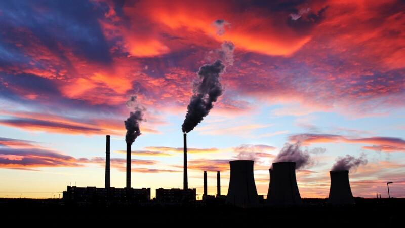 Los contaminantes que vienen en el aire