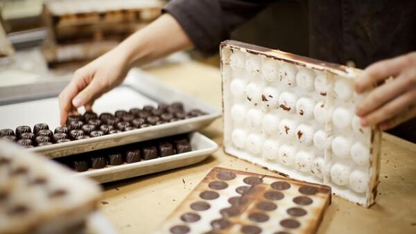 f�brica de chocolates