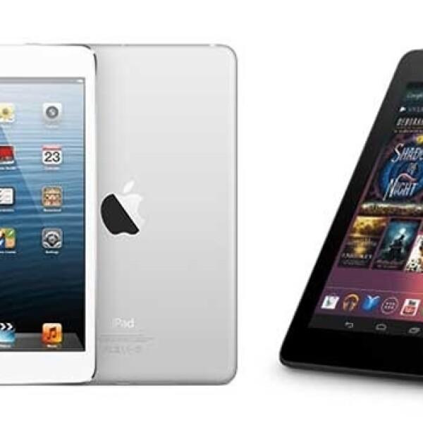 iPad mini y Nexus 7