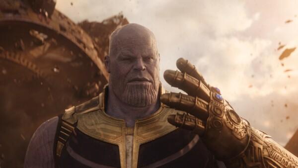 Thanos. Avengers: infinity war