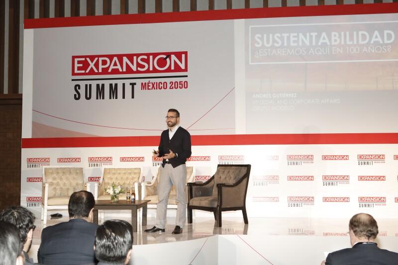 Andrés Gutiérrez Fernández habla de algunos aspectos en la innovación de Grupo Modelo.