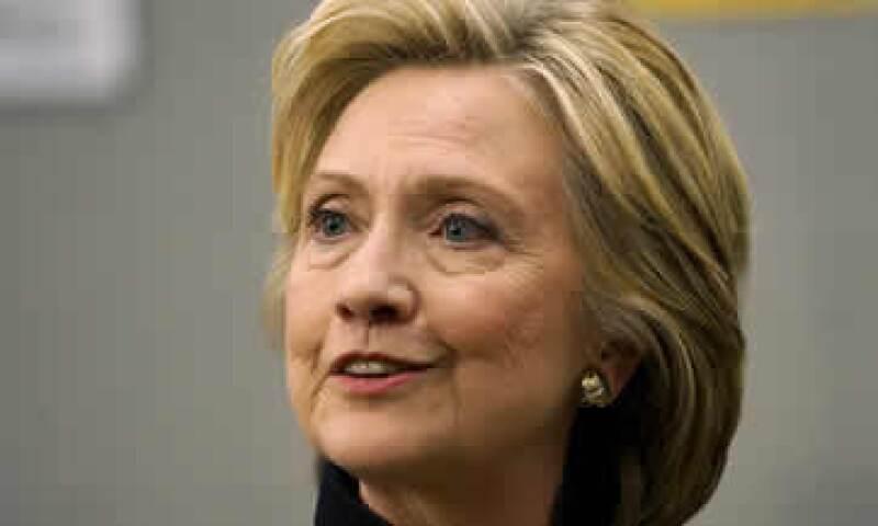 Hillary Clinton busca recaudar 2,500 mdd para su campaña. (Foto: Reuters )