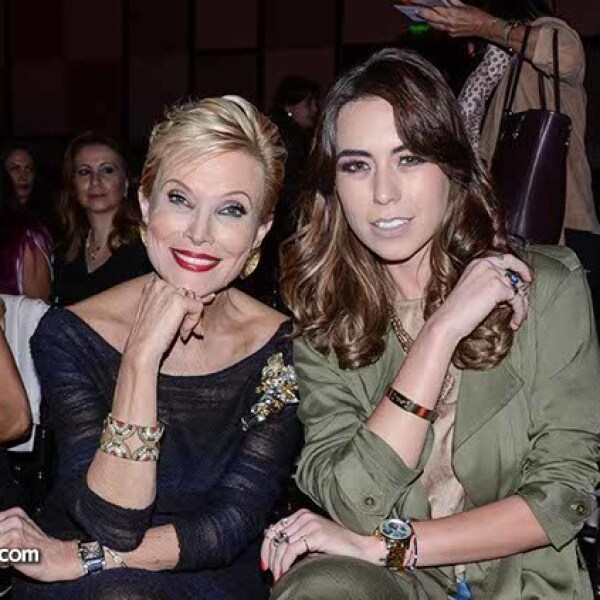 Raquel Bessudo y Florencia Alduncin.
