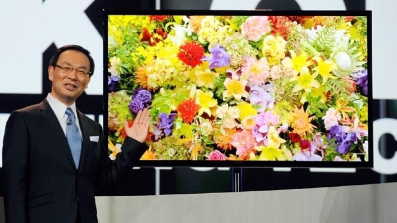 panasonic ceo Kazuhiro Tsuga 4k oled TV televisor ces 2013