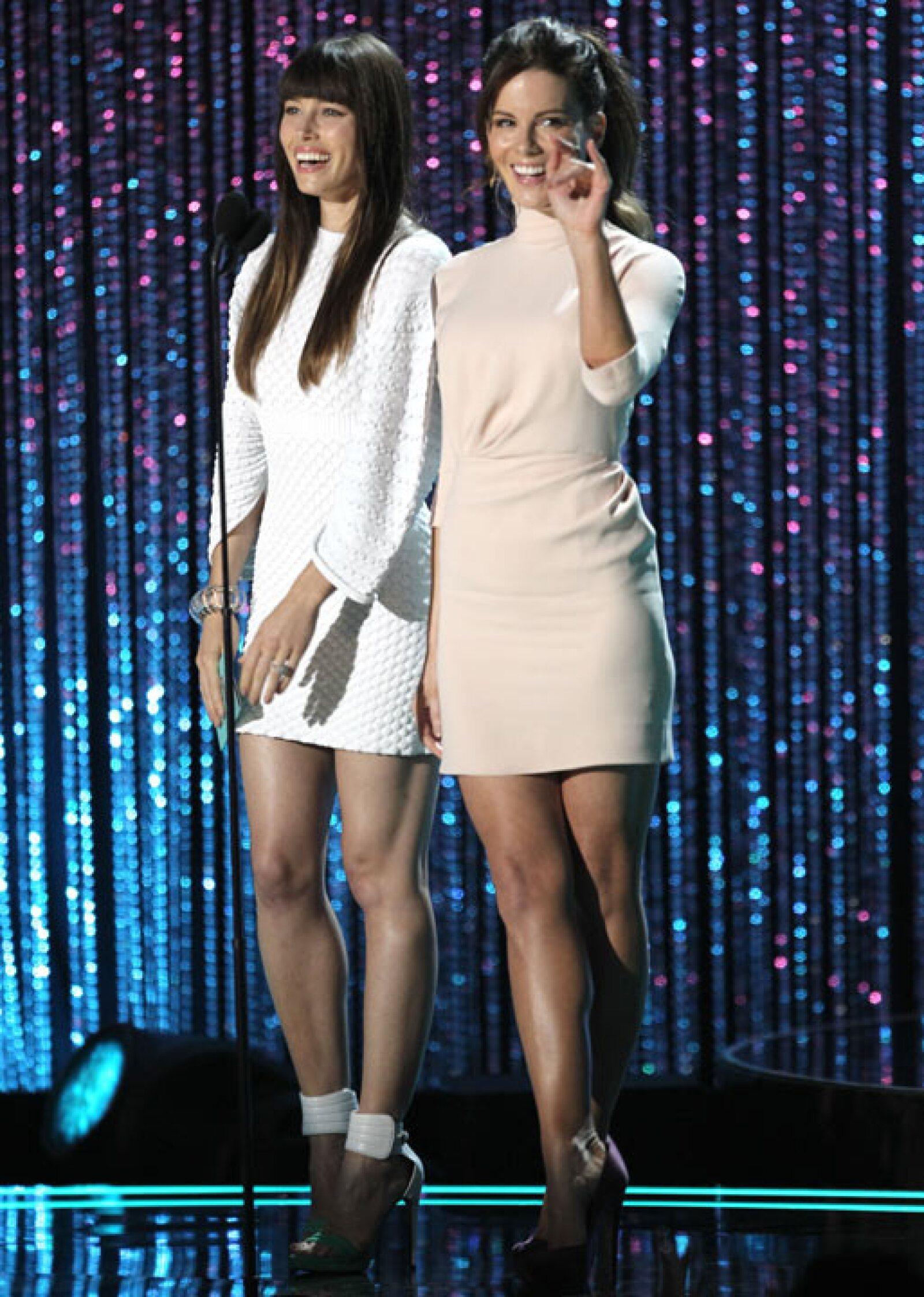 Jessica Biel y Kate Beckinsale.