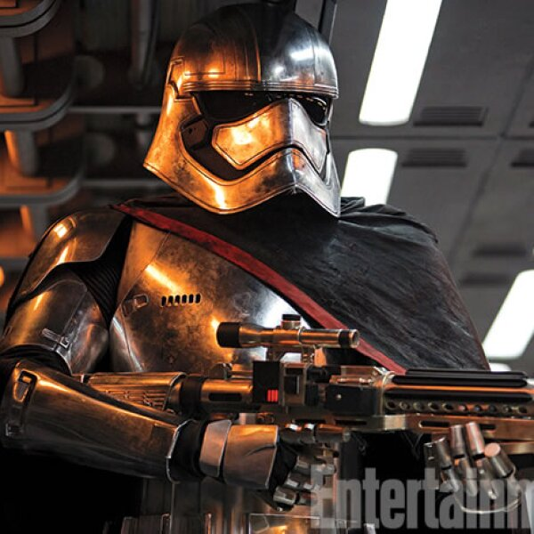 Una imágen de la nueva película de Star Wars: The Force Awakens.