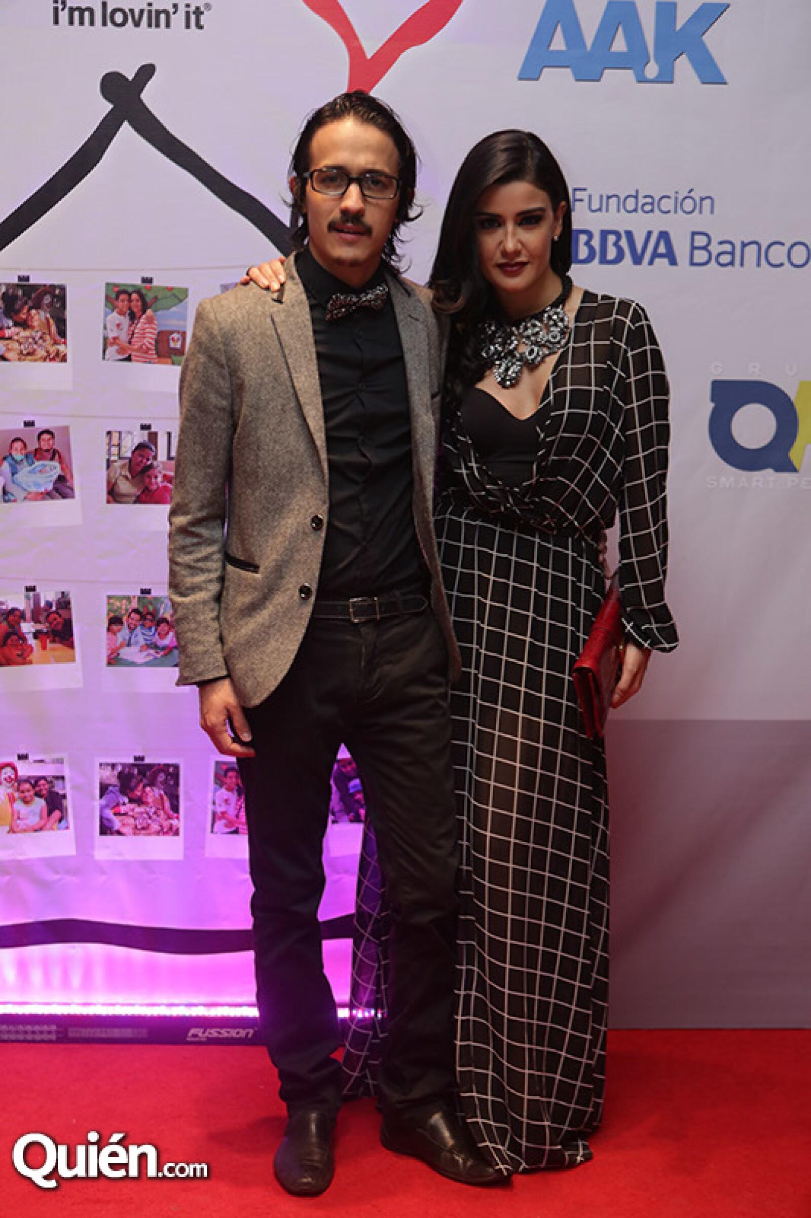 Mauricio Roldán y Tania Planter