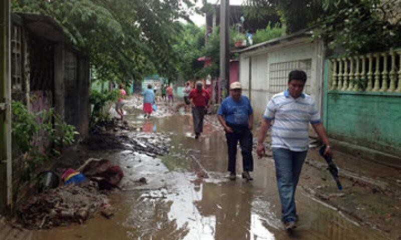 La tormenta Manuel dejó decenas de miles de damnificados. (Foto: Notimex)