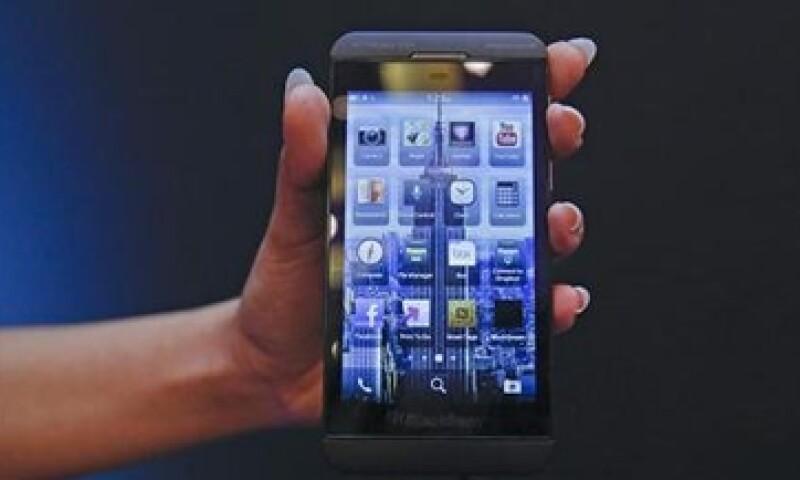 BlackBerry Z10 ha tenido una sólida demanda. (Foto: Reuters)