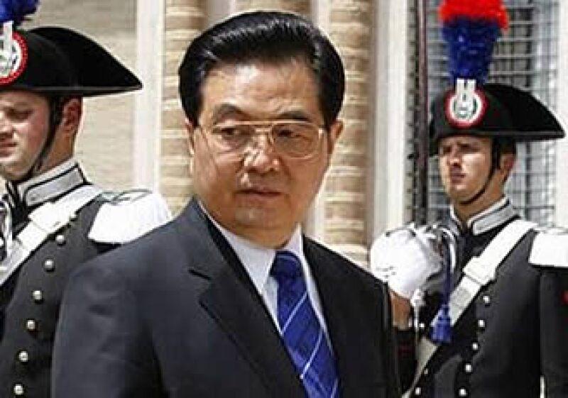 El presidente chino, Hu Jintao, dejó la cumbre del G8 para solucionar las protestas en Xinjiang.  (Foto: Reuters)