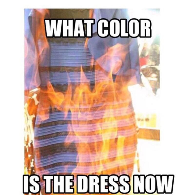 Ellie Goulding también fue una de las celes que no pudo evitar comentar sobre el vestido.