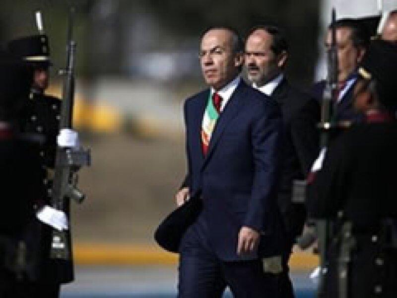 El mandatario mexicano encabezó la ceremonia conmemorativa de la Batalla de Puebla. (Foto: AP)