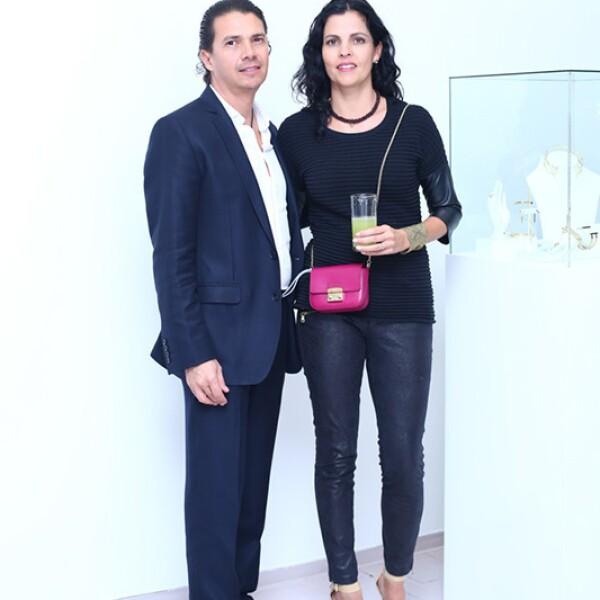 Felipe Ramos y Natalia García Vivanco