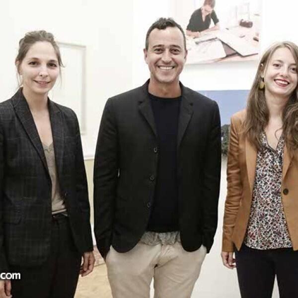 Liza Trottet,Alexander Barrios y Flora Vachez