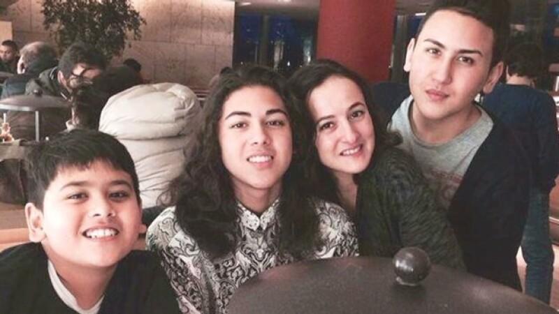 La familia Calehr antes de la tragedia del vuelo de Malaysia Airlines, en el que perdieron la vida dos hermanos