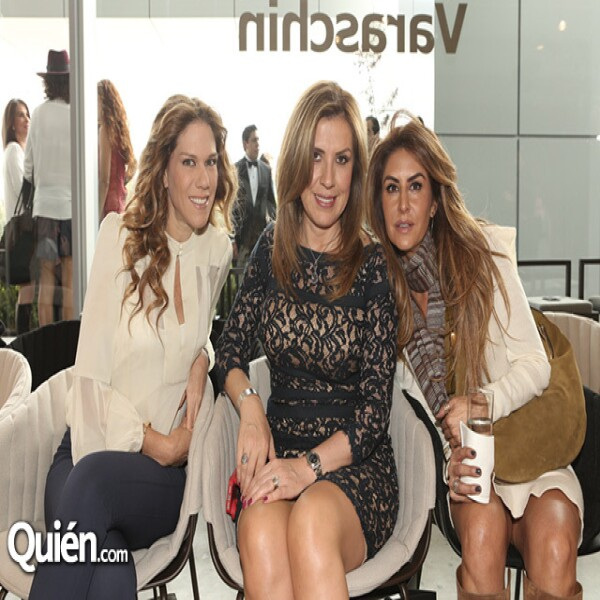 Ana Álvarez, Ana Ojeda y Alejandra Fountanet