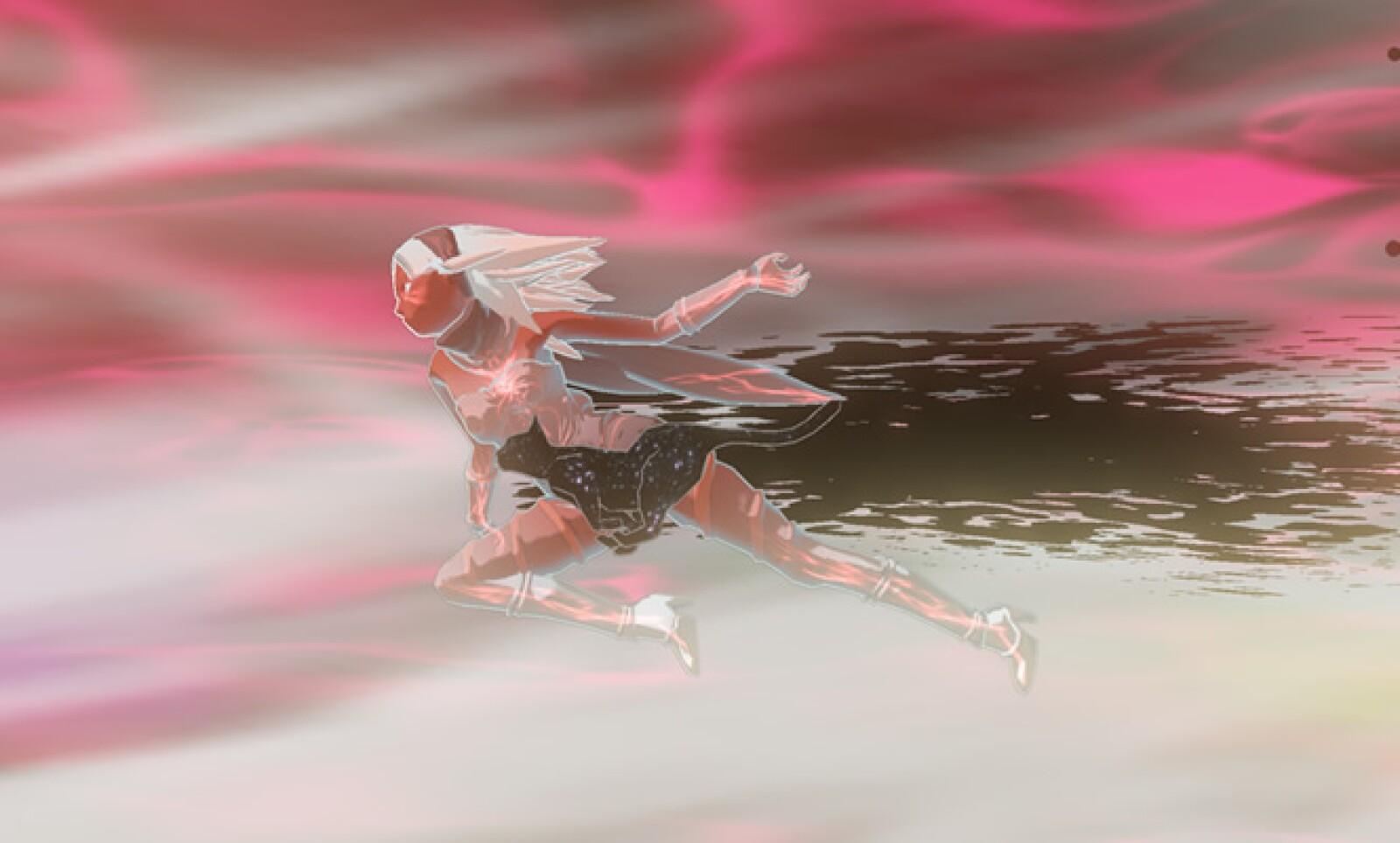 Al manipular la gravedad también podrá realizar ataques en el aire.