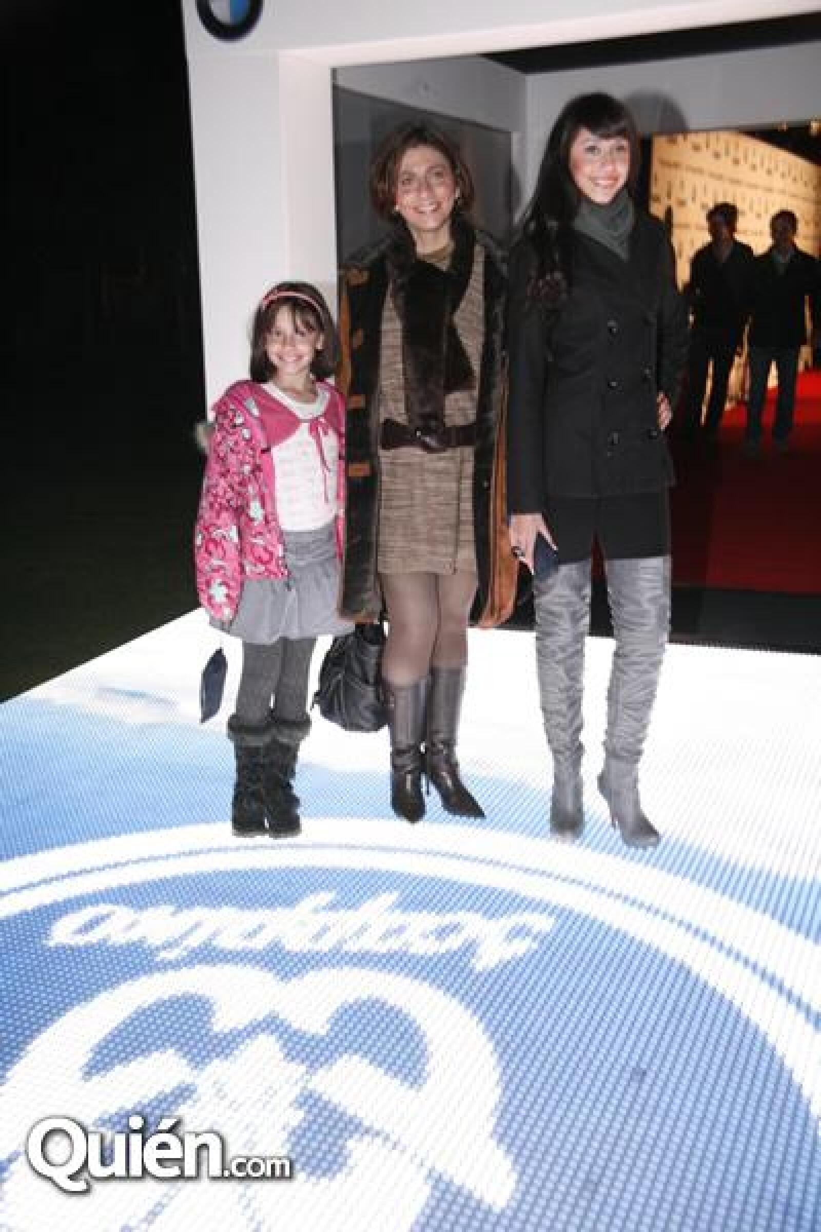 Brenda Ruiz,Patricia de Ruiz,Paulina Ruiz