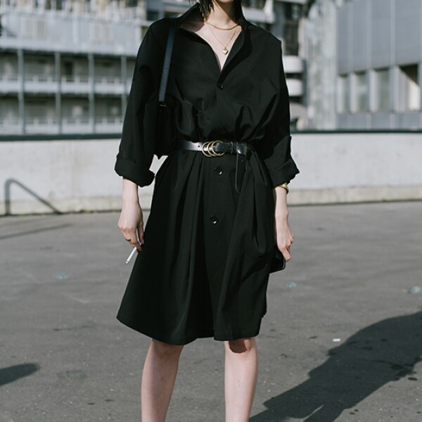 Street Style : Paris Fashion Week -Haute Couture Fall/Winter 2019/2020 : Day One