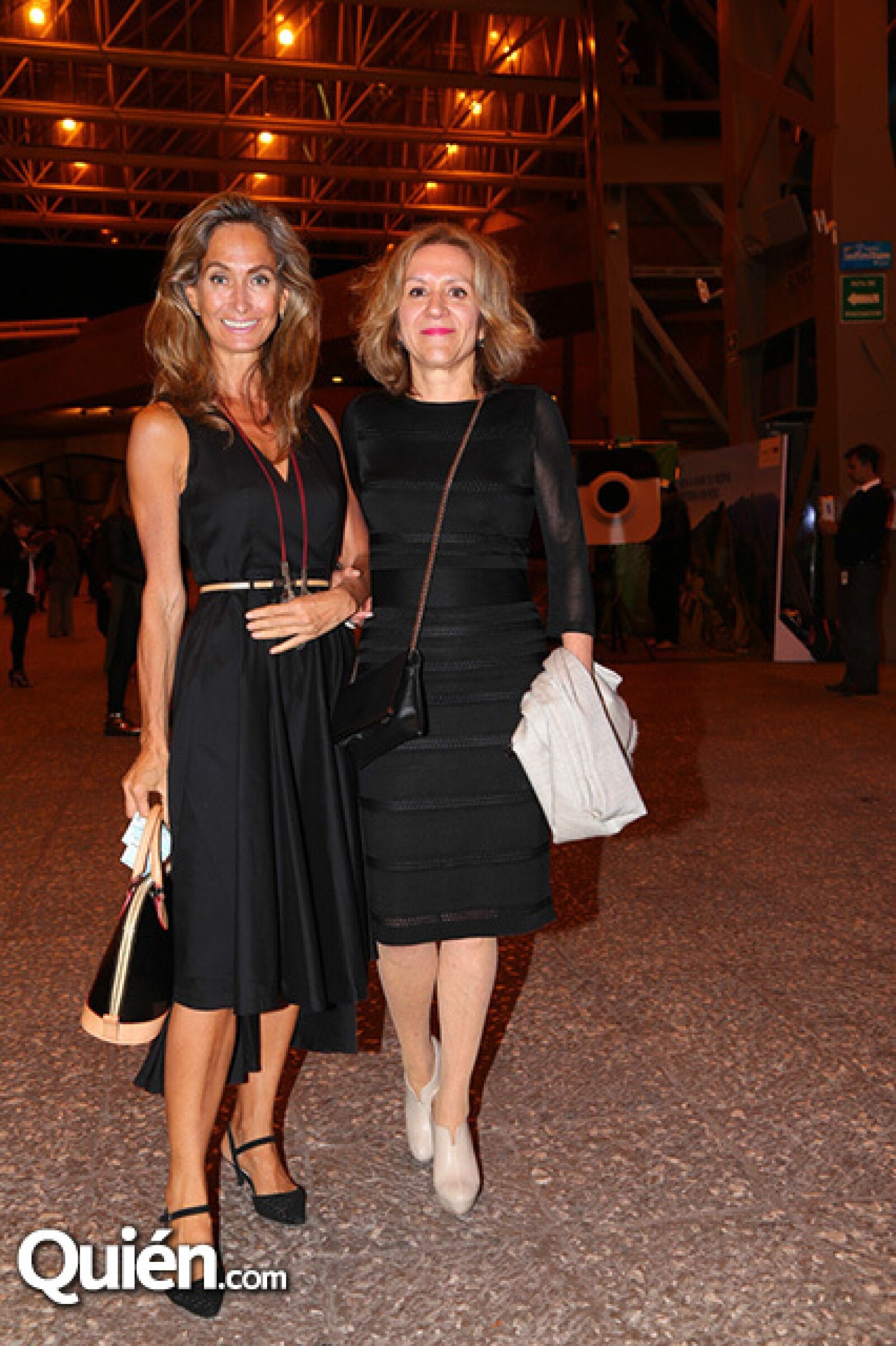 Roxanna Pierce y Silvia Navarrete