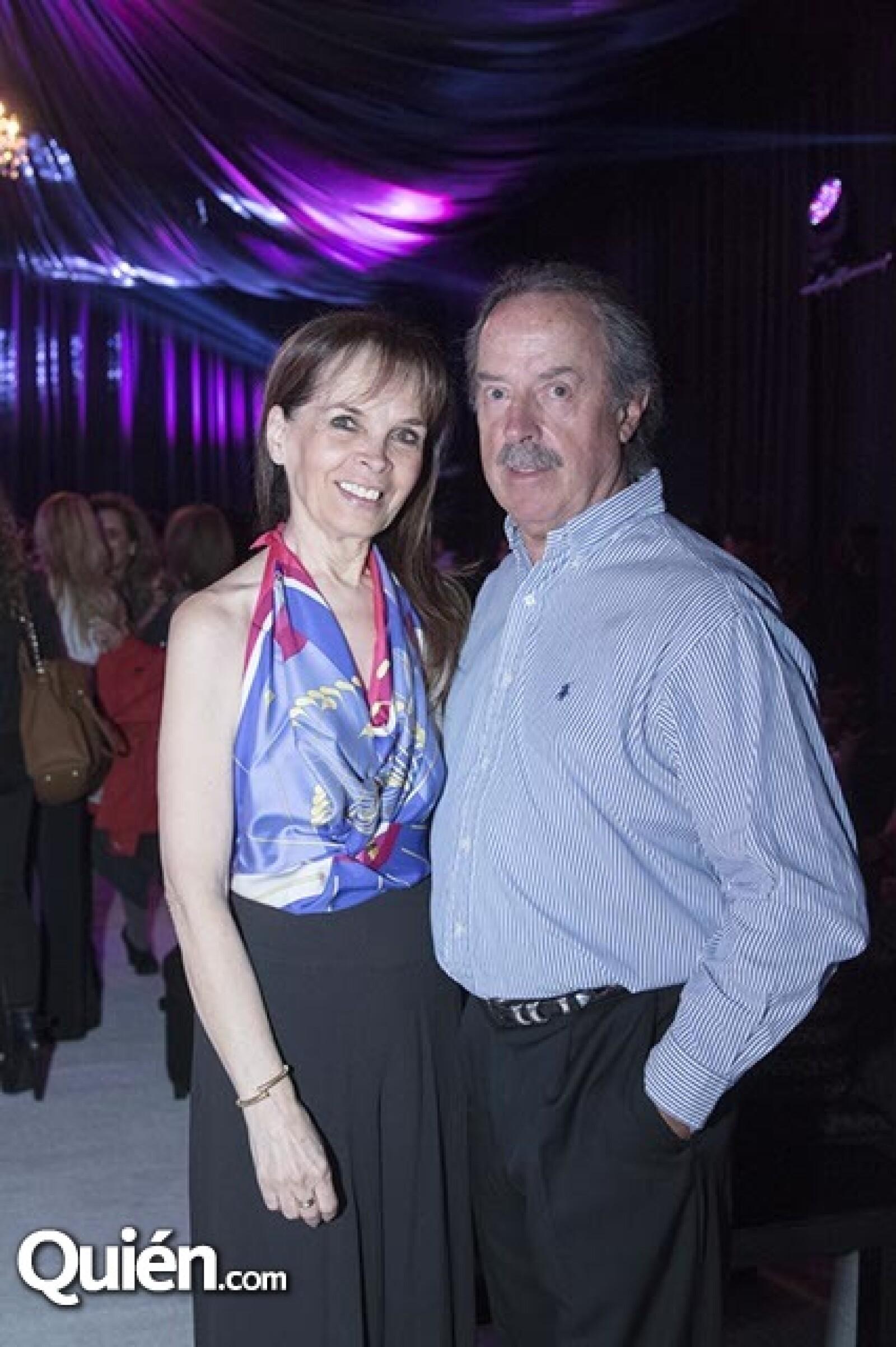 Elena Lozoya y Carlos García Diego