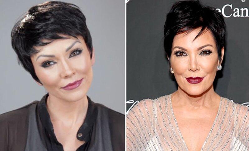 Kylie, Kris, Kim y Khloé se convierten en inspiración para esta artista del maquillaje, quien copia cada uno de sus rasgos en su cara; El resultado es increíble.