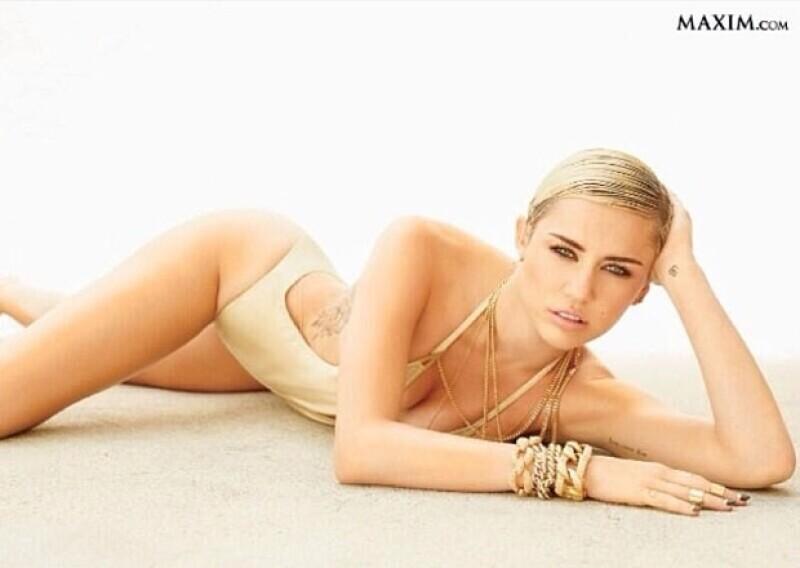 La misma Miley se sorprendió al recibir la noticia y no pudo ocultar su felicidad.